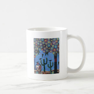 Day Of The Dead Mexican Art By Lori Everett Mug