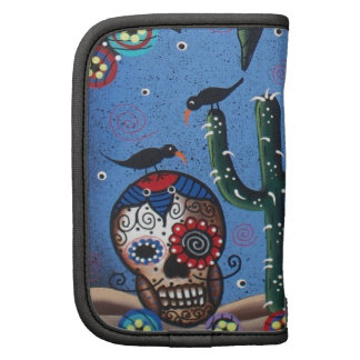 Day Of The Dead Mexican Art By Lori Everett Folio Planners