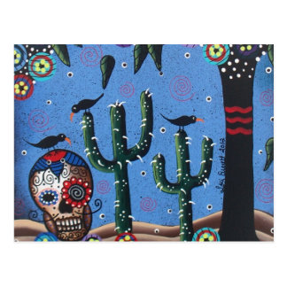 Day Of The Dead Mexican Art By Lori Everett Postcards