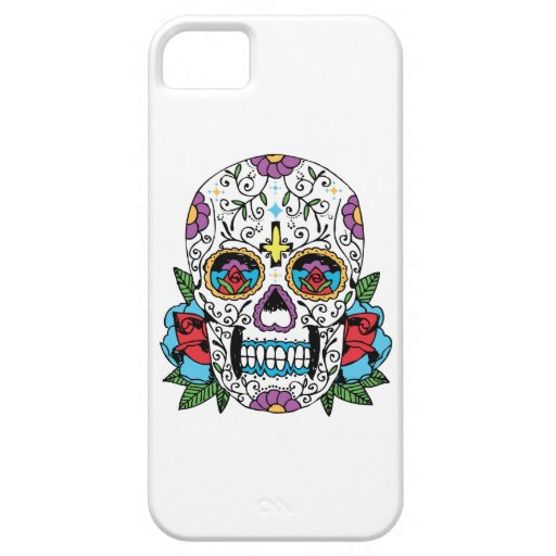 Day of the Dead Mexican Skull iphone cover iPhone 5 Cases