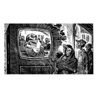 Day of the Dead, Mexico. Circa 1949 Double-Sided Standard Business Cards (Pack Of 100)