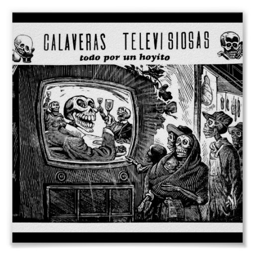 Day of the Dead, Mexico. Circa 1949 Poster