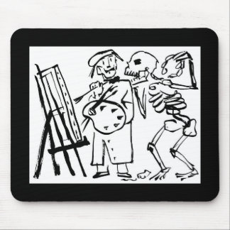 Day of the Dead, Mexico. Circa 1951 Mouse Pad