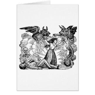 Day of the Dead, Mexico circa lates 1800's Card