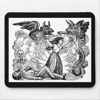 Day of the Dead, Mexico circa lates 1800's Mouse Pad