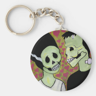 Day of the Dead Monster Love Key Chains