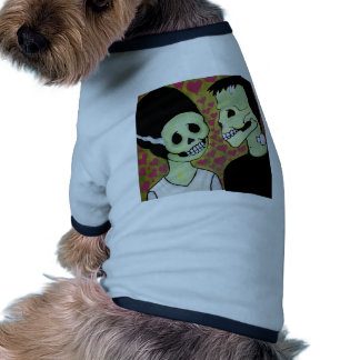 Day of the Dead Monster Love Pet Shirt