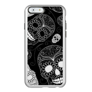Day of the Dead Mosaic Art Black & White Incipio Feather® Shine iPhone 6 Case