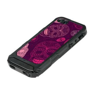 Day of the Dead Mosaic Art Pink & Purple Incipio ATLAS ID™ iPhone 5 Case