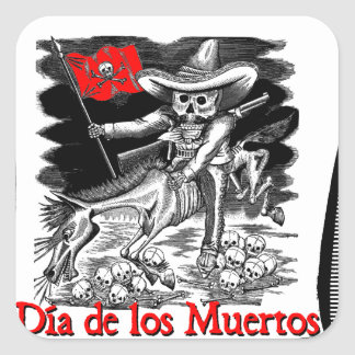 Day of the Dead motif 4 Stickers