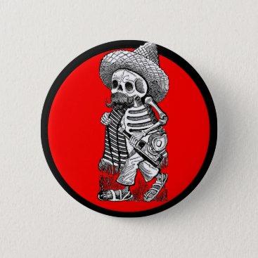 la_boutique_macabre Day of the Dead motif 5 Button