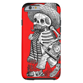 Day of the Dead motif 5 Tough iPhone 6 Case