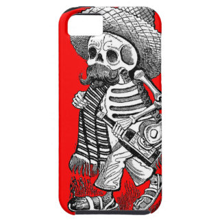 Day of the Dead motif 5 iPhone SE/5/5s Case