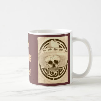 Day of the Dead Classic White Coffee Mug