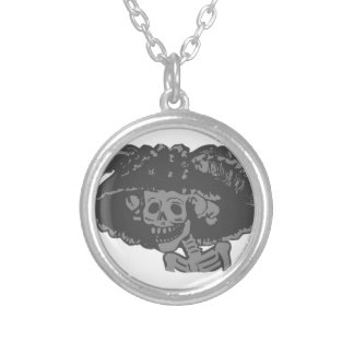 Day Of The Dead Personalized Necklace