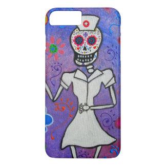 Day of the dead nurse painting iPhone 8 plus/7 plus case
