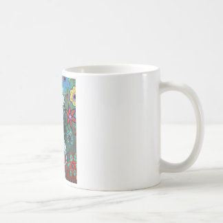 Day of the dead nurse painting classic white coffee mug