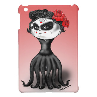 Day of the Dead Octopus iPad Mini Covers