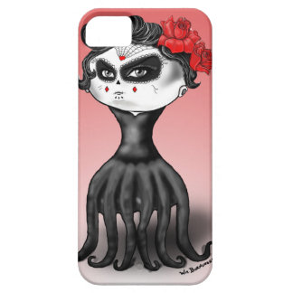 Day of the Dead Octopus iPhone SE/5/5s Case