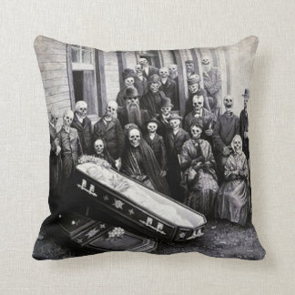 Day of the Dead Pillow - Calaveras Family Funeral