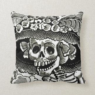 Day of the Dead Pillow - La Catrina