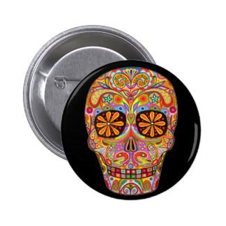 Day of the Dead Pinback Button