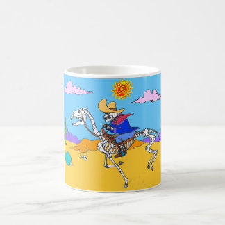 Day of the Dead Pony Express Mug