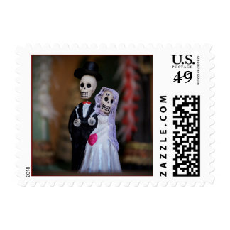 Day of the Dead postage stamps