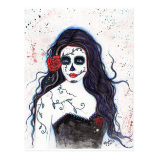 Day of the Dead postcard By Renee L. lavoie