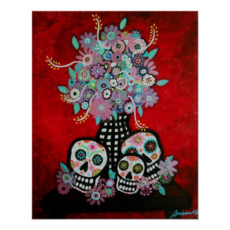 DAY OF THE DEAD POSTER PRINT