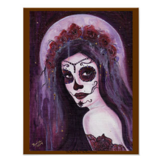 Day of the dead poster by Renee L. Lavoie