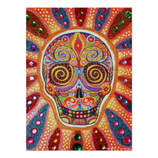 Day of the Dead Print or Poster