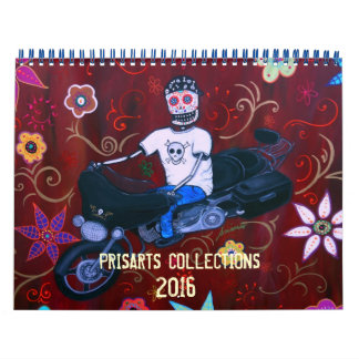 DAY OF THE DEAD PRISARTS COLLECTION CALENDAR