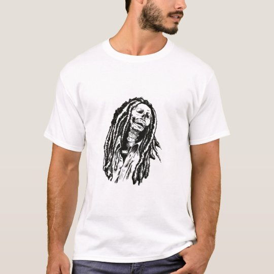 Day of the Dead Rasta T-Shirt