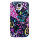 Day of the Dead Retro Mermaid Galaxy S4 Cover