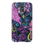 Day of the Dead Retro Mermaid Galaxy S5 Case