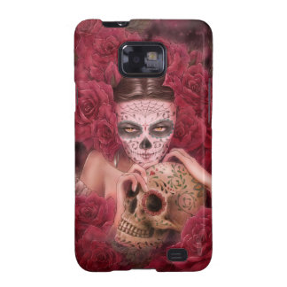 Day of the Dead Samsung Galaxy S II Case Samsung Galaxy S2 Cases