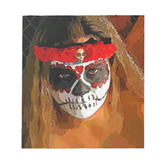 Day of the Dead Scratch Pad