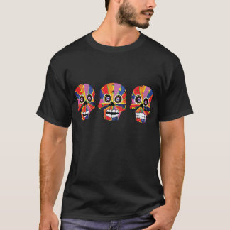 Day of the Dead Skeleton Skulls T-Shirt
