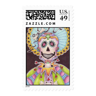 Day of the Dead Skeleton Stamp