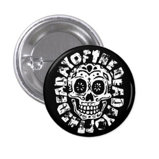 Day Of The Dead Skull 1 Pinback Button
