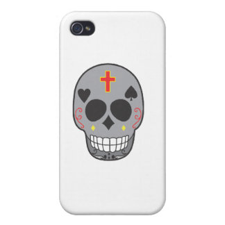 DAY OF THE DEAD SKULL 1 CASES FOR iPhone 4
