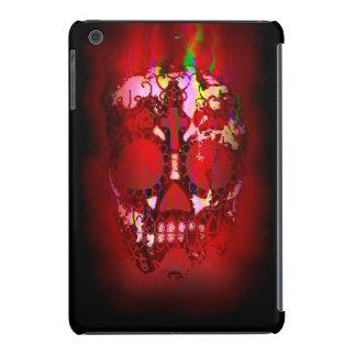 Day of the Dead Skull and Fire iPad Mini Retina Cover