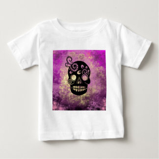 Day of the Dead Skull Baby T-Shirt