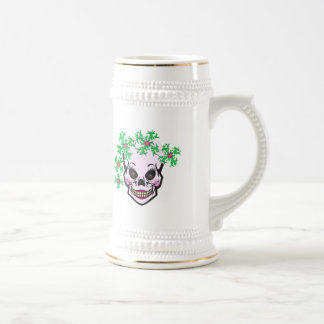 Day of the Dead Skull Beer Stein