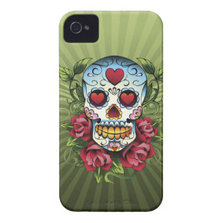 Day of the Dead Skull Case-Mate iPhone 4 Case