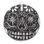 Day of the Dead Skull Dartboards