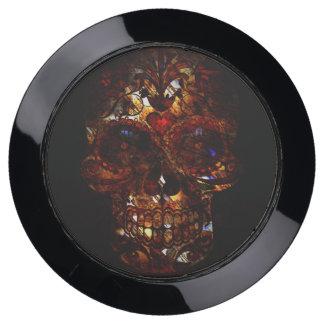 Day of the Dead Skull Death Mask Design USB Charging Station