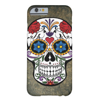 Day of the Dead Skull Día de Muertos Mexico Barely There iPhone 6 Case