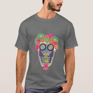 Day of the Dead Skull, Fruit Salad T Shirt